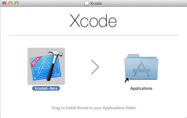 安装Xcode 6 beta